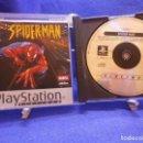 Videojuegos y Consolas: JUEGO DE PS1 SPIDER-MAN COMPLETO Y EN BUEN ESTADO . Lote 160580426