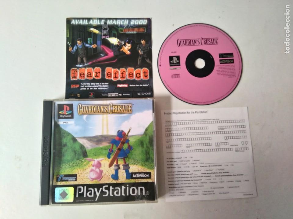 GUARDIAN'S CRUSADE PARA PS1 PS2 Y PS3!!!! (Juguetes - Videojuegos y Consolas - Sony - PS1)