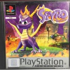 Videojuegos y Consolas: PLAYSTATION SPYRO THE DRAGON. Lote 160986685