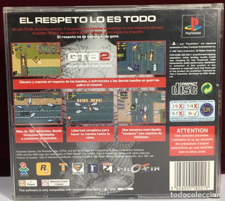 Videojuegos y Consolas: PLAYSTATION GTa2 - Foto 2 - 160995184