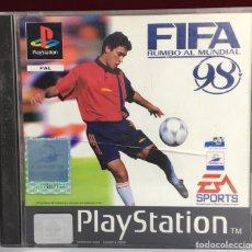 Videojogos e Consolas: PLAYSTATION FIFA - RUMBO AL MUNDIAL 98. Lote 161111485