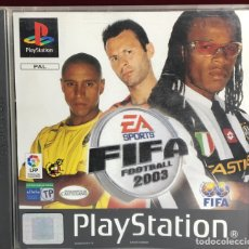 Videojuegos y Consolas: PLAYSTATION FIFA FOOTBALL 2003. Lote 161113870