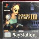 Videojuegos y Consolas: PLAYSTATION TOMB RAIDER III. Lote 161120424