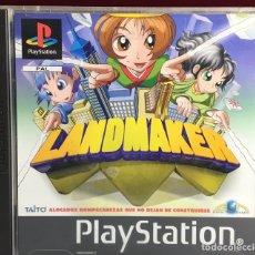 Videojuegos y Consolas: PLAYSTATION LANDMAKER. Lote 161145882