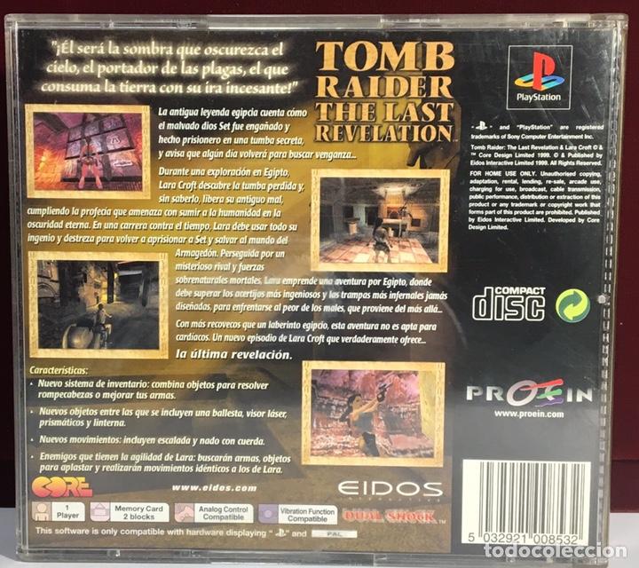 Videojuegos y Consolas: PLAYSTATION TOMB RAIDER THE LAST REVELATION - Foto 2 - 161206172