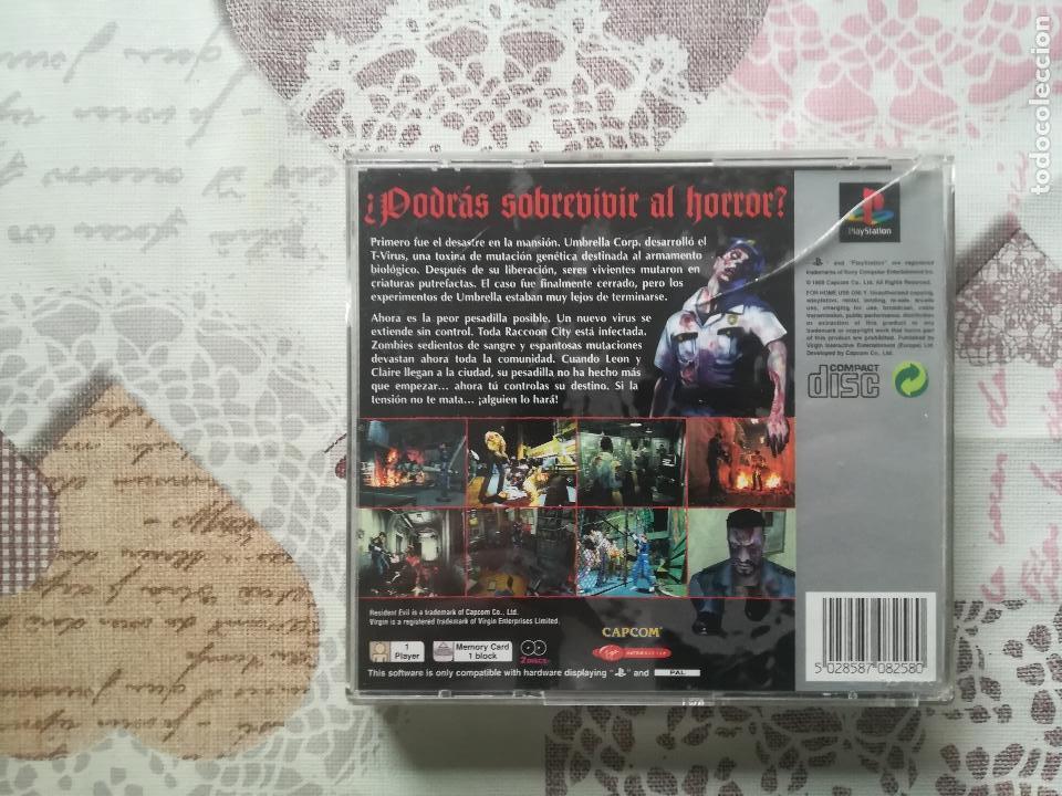Videojuegos y Consolas: RESIDENT EVIL 2 PS1 - PSX - Foto 3 - 161219218