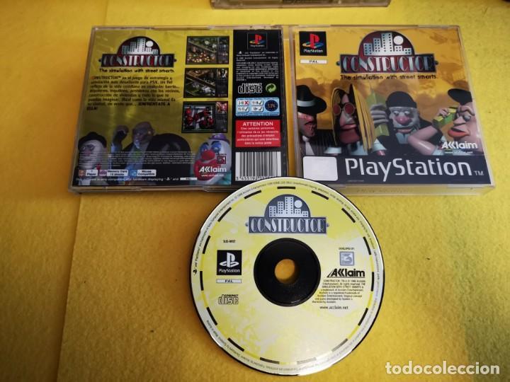 JUEGO PS1 CONSTRUCTOR (Juguetes - Videojuegos y Consolas - Sony - PS1)