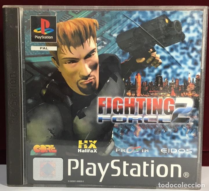 PLAYSTATION FIGHTING FORCE 2 (Juguetes - Videojuegos y Consolas - Sony - PS1)