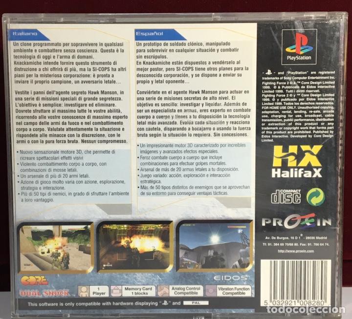 Videojuegos y Consolas: PLAYSTATION FIGHTING FORCE 2 - Foto 2 - 161269778