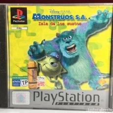 Videojuegos y Consolas: PLAYSTATION DISNEY / PIXAR MONSTRUOS S.A. ISLA DE LOS SUSTOS. Lote 161279058