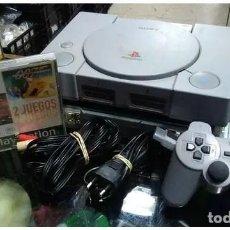 Videojuegos y Consolas: PLAYSTATION PACK CONSOLA + 2 JUEGO . Lote 161324586