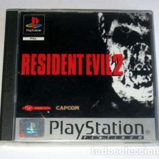 Videojuegos y Consolas: RESIDENT EVIL 2 PLATINUM PAL PS1 PSX PLAYSTATION VERSION FRANCIA. Lote 161350858