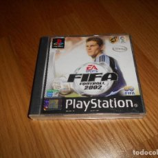 Videojuegos y Consolas: FIFA FOOTBALL 2002 JUEGO PARA SONY PLAYSTATION PS1 PSX PLAY STATION PAL ESPAÑA COMPLETO. Lote 161505330