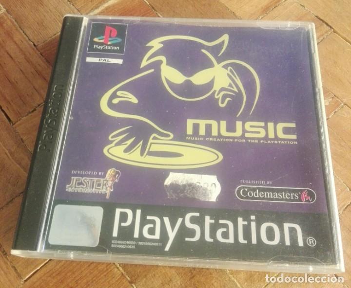 JUEGO PS1 MUSIC (Juguetes - Videojuegos y Consolas - Sony - PS1)
