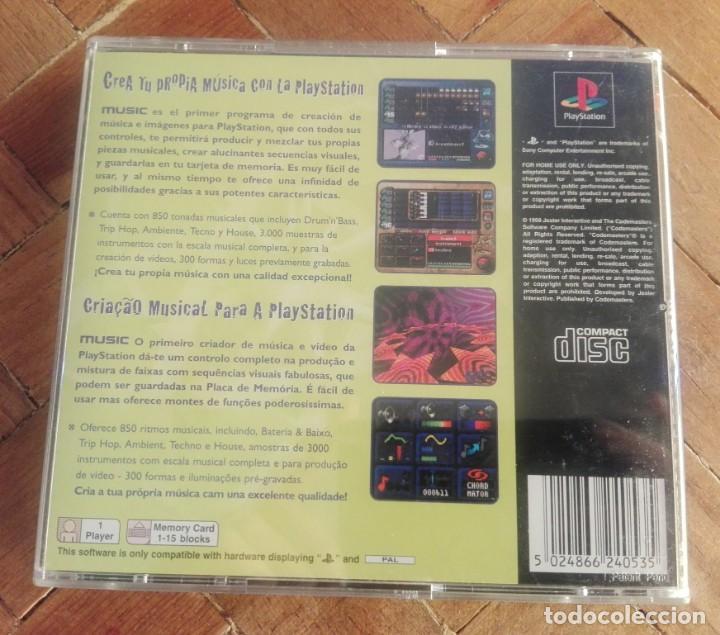 Videojuegos y Consolas: Juego PS1 Music - Foto 3 - 161527378