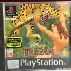 Jeux Vidéo et Consoles: PLAYSTATION DISNEY TARZAN. Lote 161659350