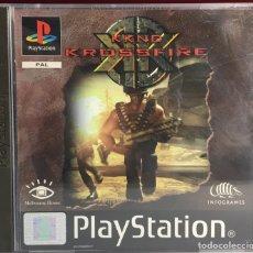 Jeux Vidéo et Consoles: PLAYSTATION KKND KROSSFIRE. Lote 161667230