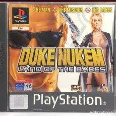 Videojuegos y Consolas: PLAYSTATION DUKE NUKEM : LAND OF THE BABES SIN MANUAL. Lote 161759284