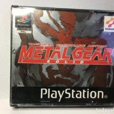 Videojuegos y Consolas: JUEGO METAL GEAR SOLID - PS1 PLAYSTATION 1. Lote 161919774