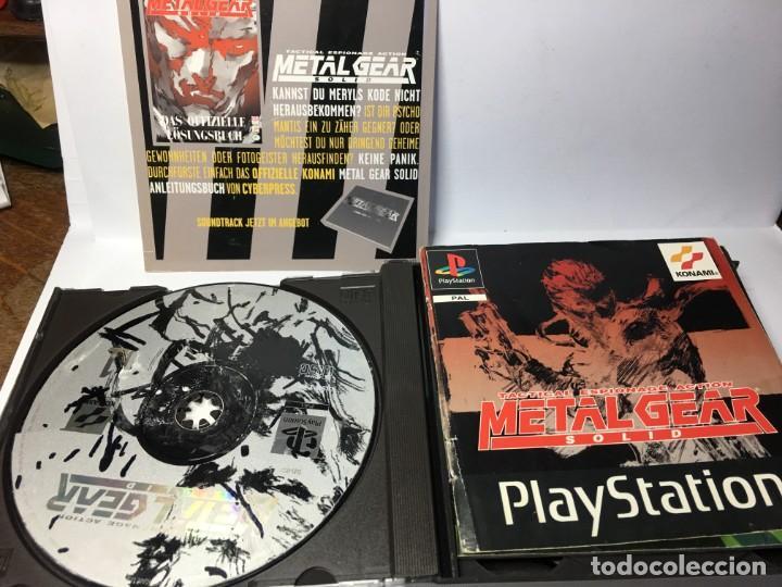Videojuegos y Consolas: JUEGO METAL GEAR SOLID - PS1 PLAYSTATION 1 - Foto 3 - 161919774