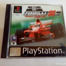 Videojuegos y Consolas: JUEGO PS1 FORMULA 1 98. Lote 162484454