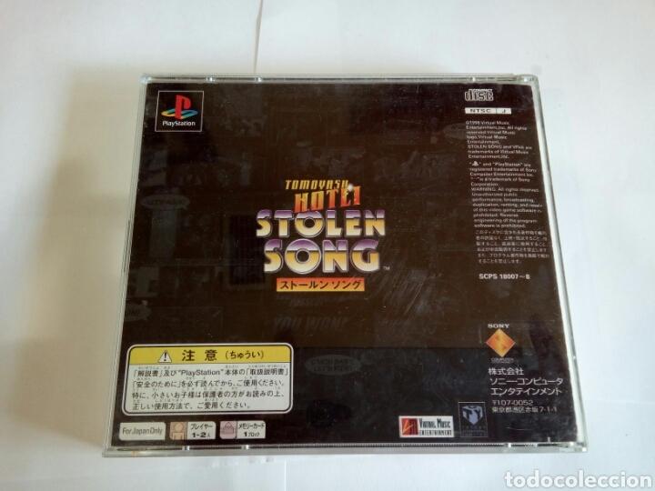 Videojuegos y Consolas: JUEGO PS1 STOLEN SONG VERSIÓN JAPONESA - Foto 2 - 160024702