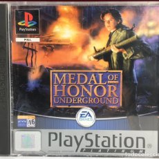 Videojuegos y Consolas: PLAYSTATION MEDAL OF HONOR UNDERGROUND. Lote 162615948