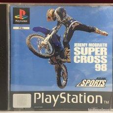 Videojuegos y Consolas: PLAYSTATION JEREMY MCGRATH SUPERCROSS 98. Lote 163049632