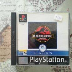 Videojuegos y Consolas: EL MUNDO PERDIDO JURASSIC PARK PS1 - PSX. Lote 163487806