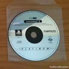 Videojuegos y Consolas: ACECOMBAT 3, JUEGO PLAYSTATION 1 PAL. NAMCO PS1 PSX PLAY STATION. SOLO DISCO ACE COMBAT PLATINUM. Lote 163573722