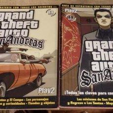 Videojuegos y Consolas: GUIA ESTRATEGIA CON TODOS LOS SECRETOS - GRAND THEFT AUTO SAN ANDREAS - PLAY 2 - 68 PAGINAS. Lote 163708250