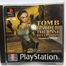 Videojuegos y Consolas: TOMB RAIDER THE LAST REVELATION PS1 PLAYSTATION 1. Lote 163776682