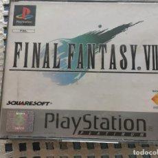 Videojuegos y Consolas: FINAL FANTASY VII FF 7 PLATINUM PLAYSTATION PLAY STATION ONE PS1 PSX KREATEN. Lote 163827354