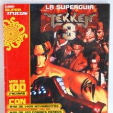 Videojuegos y Consolas: LIBRO SUPER TRUCOS LA SUPERGUIA DE TEKKEN 3 PARA PLAYSTATION 1 SUPER GUIA PSX PLAYSTATION PLAY. Lote 163977882