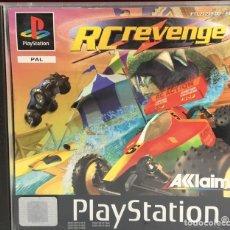 Videojuegos y Consolas: JUEGO PLAYSTATION 1 RC REVENGE SIN MANUAL. Lote 164109986
