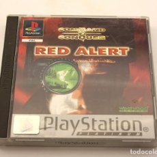 Videogiochi e Consoli: RED ALERT COMMAND AND CONQUER - PLAYSTATION 1 - SONY - PS1 - VERSION ESPAÑOLA. Lote 164268102