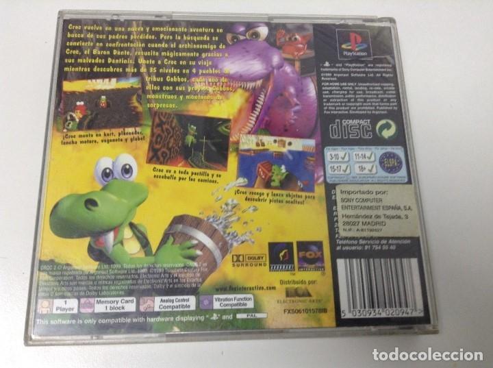Videojuegos y Consolas: CROC 2 - Foto 2 - 164625108