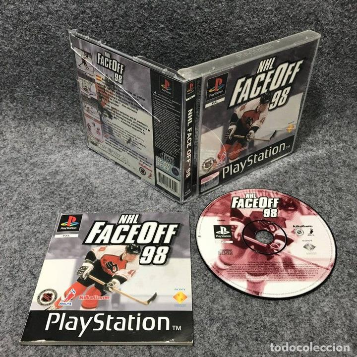 NHL FACE OFF 98 SONY PLAYSTATION (Juguetes - Videojuegos y Consolas - Sony - PS1)