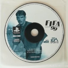 Videojuegos y Consolas: FIFA 99, JUEGO PLAYSTATION 1 PAL. ELECTRONIC ARTS PS1 PSX PLAY STATION. SOLO DISCO. Lote 164780078