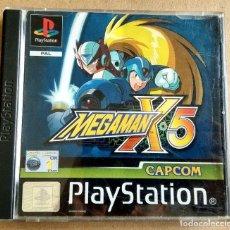 Videojuegos y Consolas: MEGAMAN X5 MEGA MAN X-5 PAL ESPAÑA COMPLETO. Lote 164801182