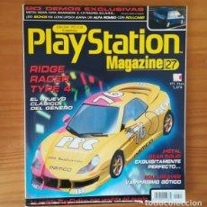 Videojuegos y Consolas: PLAYSTATION MAGAZINE 27, MARZO 1999. RIDGE RACER TYPE 4, SOUL REAVER, METAL GEAR SOLID, SCARS.... Lote 164885258