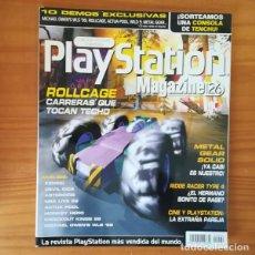 Videojuegos y Consolas: PLAYSTATION MAGAZINE 26, FEBRERO 1999. ROLLCAGE, METAL GEAR SOLID, RIDGE RACER TYPE 4, KENSEI.... Lote 164885310