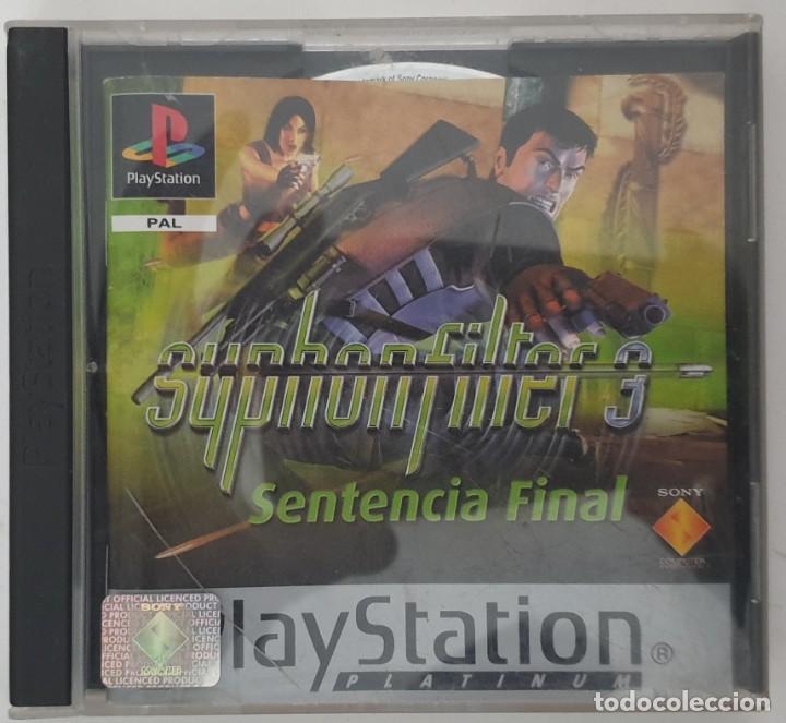 SYPHONFILTER 3 SENTENCIA FINAL PS1 (Juguetes - Videojuegos y Consolas - Sony - PS1)