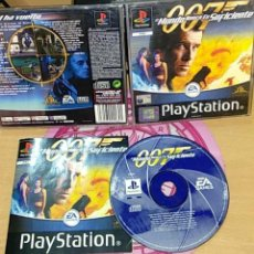Videojuegos y Consolas: 007 EL MUNDO NUNCA ES SUFICIENTE, PLAYSTATION PSX. Lote 165311382