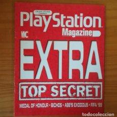 Videojuegos y Consolas: EXTRA MEDAL OF HONOUR, BICHOS, ABE'S EXODUS, FIFA 99... SUPLEMENTO PLAYSTATION MAGAZINE.. Lote 165718158