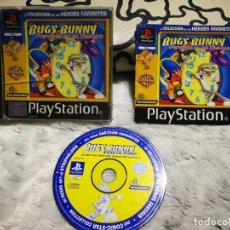 Videojuegos y Consolas: BUGS BUNNY PERDIDO EN EL TIEMPO PS1 COMPLETO. Lote 232580885
