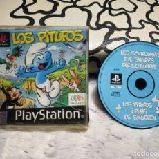 Videojuegos y Consolas: LOS PITUFOS PS1 SIN INSTRUCCIONES . Lote 165905206
