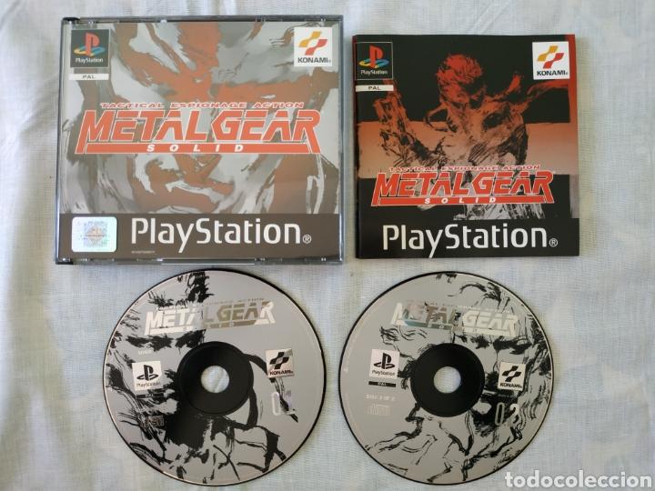 METAL GEAR SOLID PS1 (Juguetes - Videojuegos y Consolas - Sony - PS1)