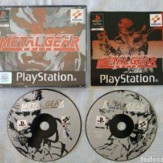 Videojuegos y Consolas: METAL GEAR SOLID PS1. Lote 166341417
