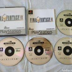 Videojuegos y Consolas: FINAL FANTASY IX PS1. Lote 166341666